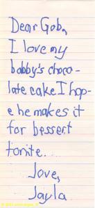 child's prayer - food