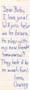 child's prayer - play
