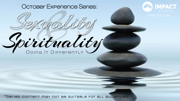 sexuality and spirituality: doing it differently